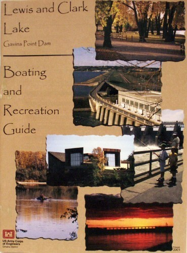 Lewis and Clark Lake Boating and Recreation Map