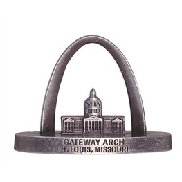 Mini Gateway Arch Replica