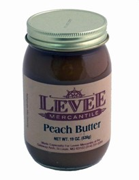 Butter: Peach Butter-19 ounces