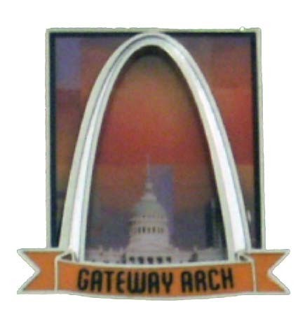 Arch Urban Sunset Magnet