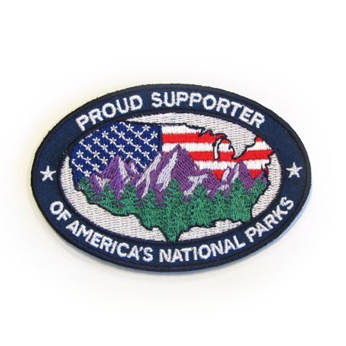 Proud Supporter of America's National Parks Patch