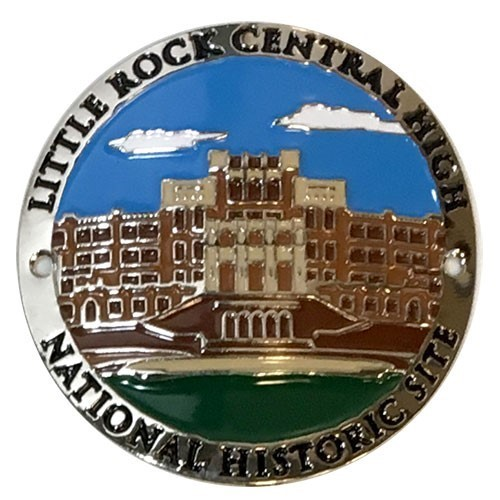 Little Rock Central High School Walking Stick Emblem