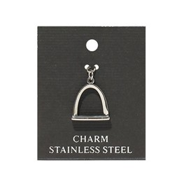 Charm: Stainless Steel Arch