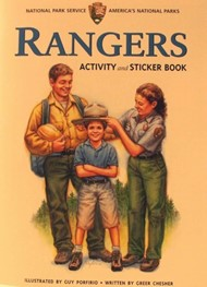 Rangers Activity and Sticker Book by Greer Chesher