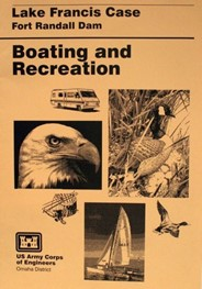 Lake Francis Case Boating and Recreation Map (1997)