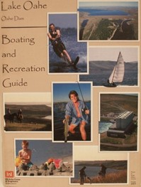 Lake Oahe Boating and Recreation Map (2003)