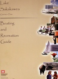 Lake Sakakawea Boating and Recreation Map (2005)