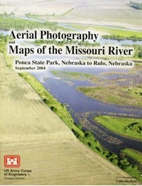 Aerial Photos and Maps of the Missouri River: Ponca State Park to Rulo NE (2004)