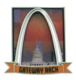 Magnet: Arch Urban Sunset