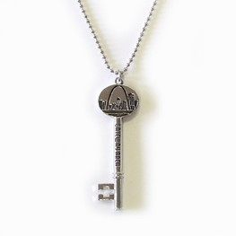 Necklace: Gateway Arch/ Old Courthouse Key