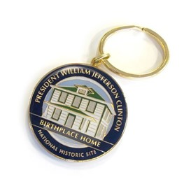 Keychain: President William Jefferson Clinton Birthplace Home NHS
