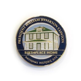 Magnet: President William Jefferson Clinton Birthplace Home NHS