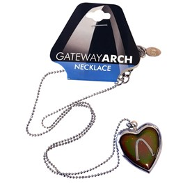 Gateway Arch Mood Necklace
