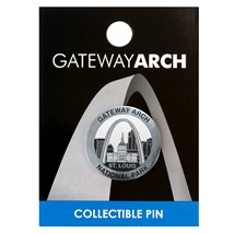 Gateway Arch National Park Lapel Pin