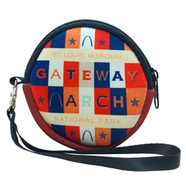 Gateway Arch Block Letters Coin Purse